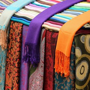 scarves, shawls, cotton